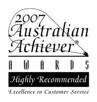 Customer Service Award 2007